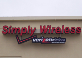 Simply Wireless Sign
