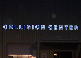 Collision Center Sign