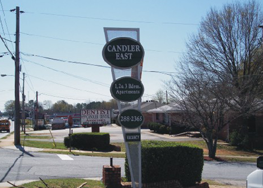 Candler East Sign