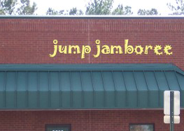 Jump Jamboree Sign