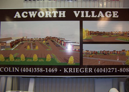 Acworth Village Sign